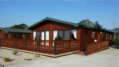 Photo for CAB20 Luxury Cabin on Mulroy Bay in Donegal - Sleeps 8