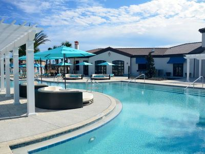 Photo for Luxury 7 Bed Villa with Pool/Spa, Game Room & Resort Clubhouse - Minutes to Disney