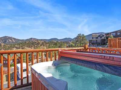 Photo for Beaver Mountain 20A - 2 Br condo with private hot tub, Marys Lake and mountain views!