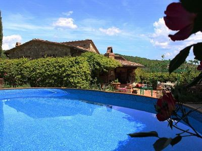 Photo for 4BR House Vacation Rental in Greve in Chianti, Firenze