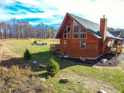 Photo for Slopes, Boats, & Birdies- Lake Area/Golf Area Home w/ Fire Pit & Hot Tub