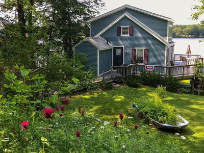 Outstanding 1Br Cottage Vacation Rental In Richmond Maine 122095 Home Interior And Landscaping Palasignezvosmurscom