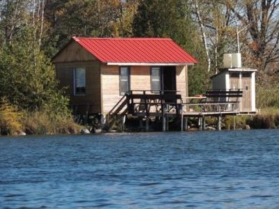 Photo for Waterfront Cabin On Private Trout Lake