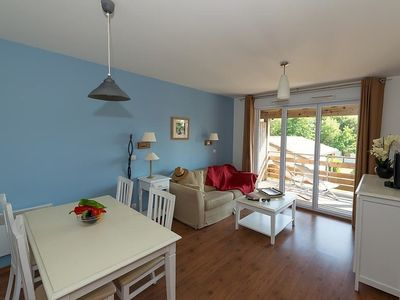Photo for Apartment 1.3 km from the center of Parentis-en-Born with Parking, Internet, Washing machine, Pool (311907)
