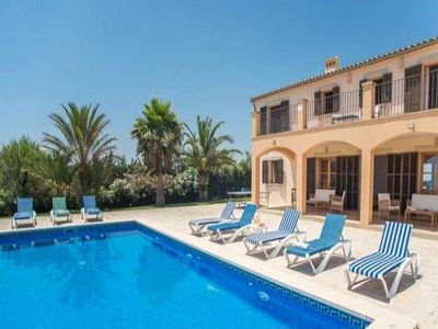 Photo for 6 bedroom Villa, sleeps 12 in Calonge with Air Con and WiFi
