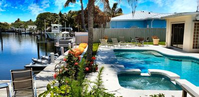 Photo for Joy Key Luxury Waterfront 3/2 Pool, Kayak,BoatDock. Minutes to Beach,Stadium,PGA
