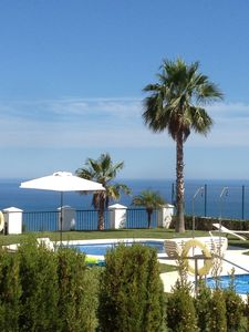 "Photo for ""Balcony to the sea"" Costa del Sol 120m² apartment with unforgettable views & Poo"