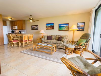 Photo for **Summer Sale** $120 per night. Beautiful oceanfront condo with beach equipment