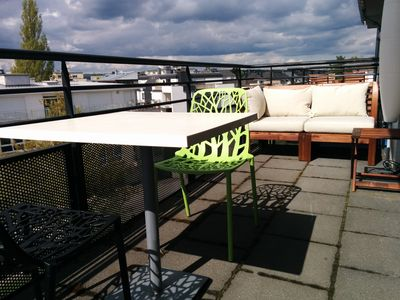 2 Bedroom Rooftop with Terraces in Luxembourg City