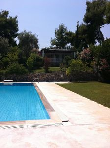 Photo for Seaside Residences near Athens with pool, basket & tennis court
