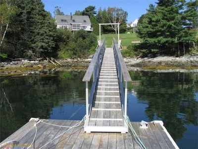 Photo for Renovated 4 Bedroom Ocean Front Home on Blue Hill Bay w/ private dock