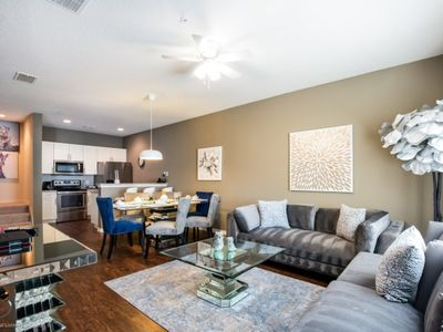 Photo for You and Your Family will Love this Luxury Home on West Lucaya Village Resort, Orlando Townhome 2684