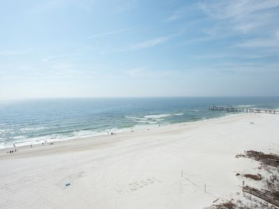"Photo for The Palms 912 - Completely Renovated! Beachfront - ""No Place I'd Rather Be..."