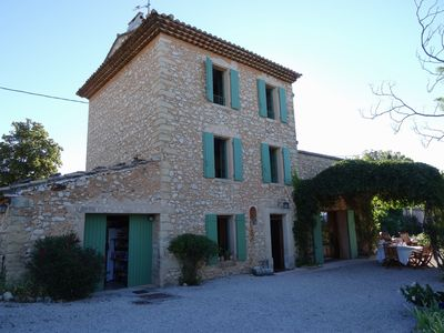 Photo for Rent Provencal farmhouse with swimming pool mont-Ventoux (84) 8/10 sleeps