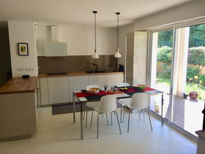 Photo for Biarritz apartment with garden