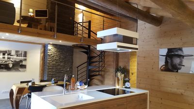 Photo for Luxurious duplex apartment in chalet (78 m²)