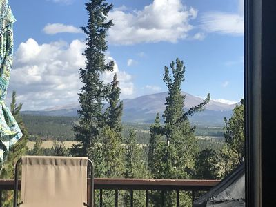 Photo for Picturesque Mountain Escape: Views/Hot Tub/Getaway/Trails/Skiing, Fishing