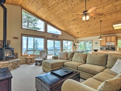 Photo for NEW! Pet-Friendly Mtn Home w/ Deck, 3 Mi to Hiking