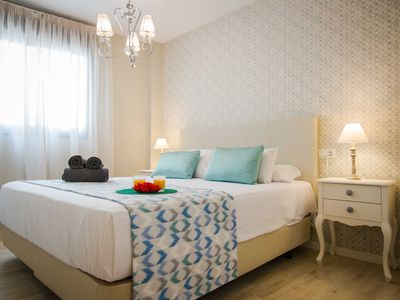 Photo for Newly renovated and furnished in the historic center of Málaga with shared terrace