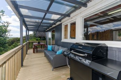 Deck - outdoor dining, bbq, views and relaxation!