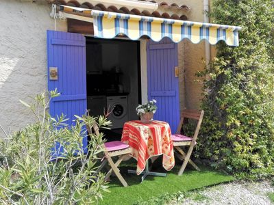 Photo for Beautiful cottage in provence property, for 2 people in the hinterland of Nice.
