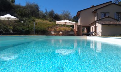 Photo for Podere San Regolo - Tuscan Villa with private swimming pool