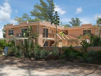 Photo for Wonderful Island Getaway w/ Private Patio just moments away of White Sandy Beach
