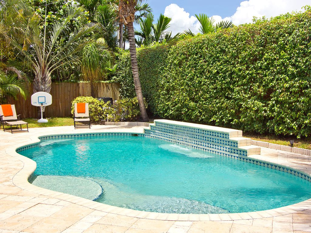 Deerfield Beach Floresta Beauty Private Yard W Pool Minutes From Beach Hillsboro Beach