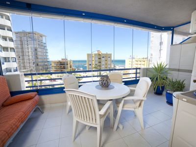 Photo for Apartment Turquesa Beach in Calpe/Calp - 4 persons, 1 bedrooms