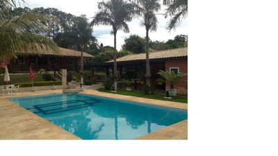 Photo for Country house in a gated community. Easy access by Rod. Castelo Branco KM 93.
