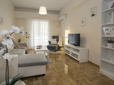 Photo for Comfy apartment in Koukaki-Athens