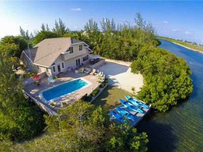 Photo for Hidden Cove: Secret Hideaway in Cayman Kai with Private Pool, Dock & Kayaks