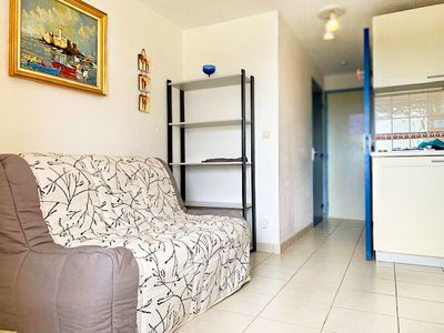 Photo for Charming apartment ideal for 4 people with a sea view - Cap d'Agde