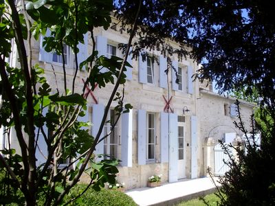 Photo for Typical Charente house in the middle of nature, 20 km away from the sea.