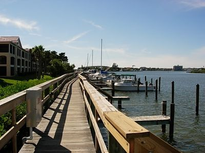 Photo for Intracoastal frontage:  Enjoy the water view while you watch the dolphins play