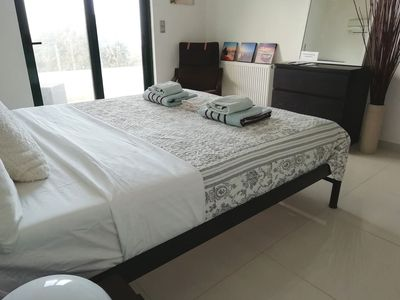 Photo for Double Room With Sea Views in a Quiet Family House in Koskinou, Rhodes