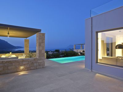 Photo for Intimacy and comfort! Amazing sea-view villa private pool a few min from beach