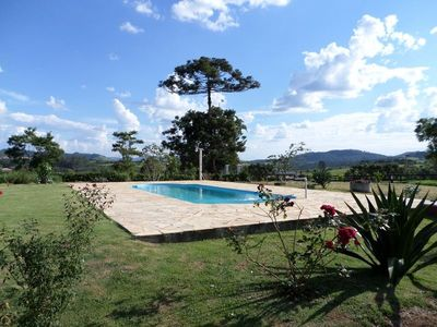 Photo for Site in Piracaia with pool, barbecue 1km from the city.
