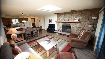Photo for Contact-free check in, beautiful river view condo, walk to downtown WP