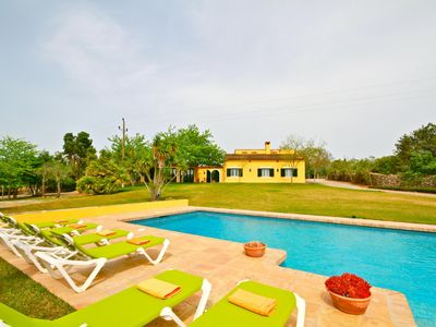 Photo for Very quiet location 3 km from the beach, 11x 5.5 meters pool, lawns