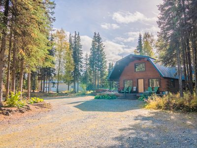 Photo for Sashas Kenai River Alaskan Log Cabin