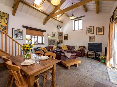 Photo for Lying on a 15 acre smallholding this is a perfect escape to country living yet a short drive to the
