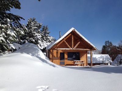 Photo for Cozy chalet 6 pers. with wood stove - Font-Romeu