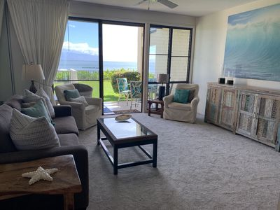 Photo for TURTLE COVE CABANA! Big Ocean Views! Napili Point