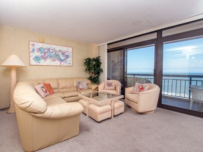 Photo for Fountainhead Towers offers oceanfront and bay views from 2 balconys