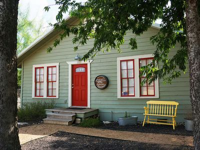 Photo for Charming Bungalow IN the Wimberley Square!