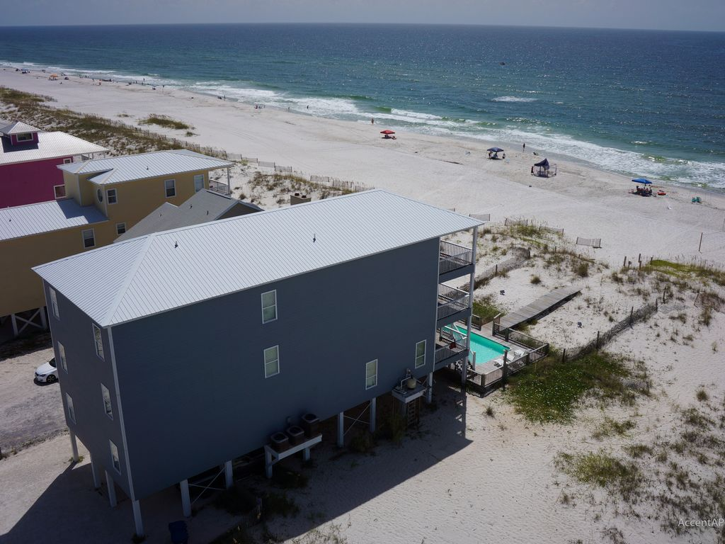 Superior Endurance Beach House Gulf Shores Part - 7: Gulf Front! 14 Bedrooms With Private Pool And Private Boardwalk. Endurance  Beach House