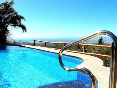 Photo for LUSH APARTMENT, SWIMMINGPOOL WITH GREAT OCEANVIEW