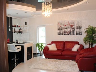Photo for 2 room lux apartment on Sobornaya 14