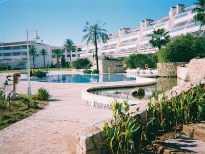 Photo for Quality Beachside Apartment - Beautiful Gardens with Pools.
